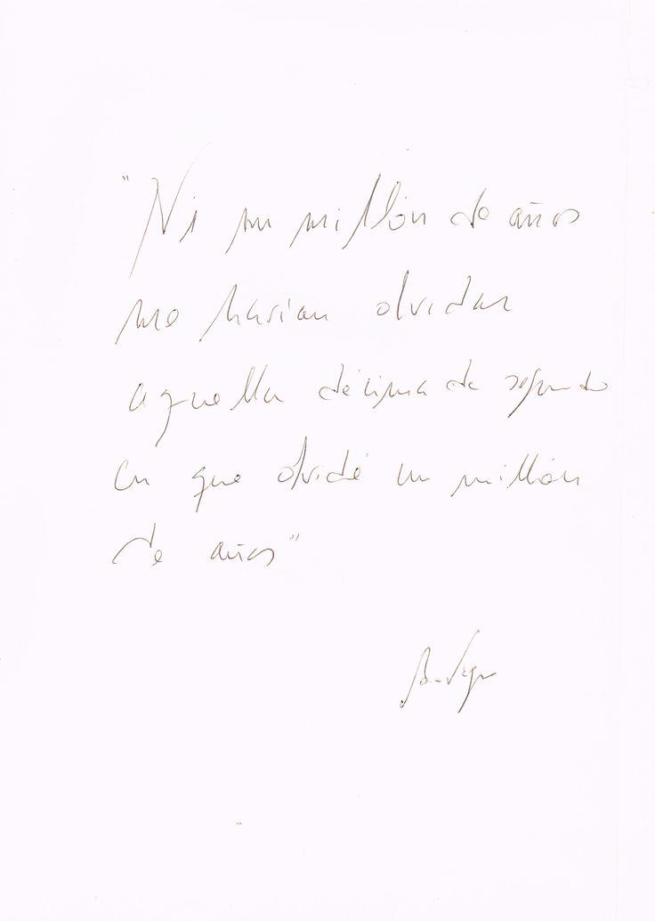 Antonio Vega: la frase mas brillante k he leído jamas...