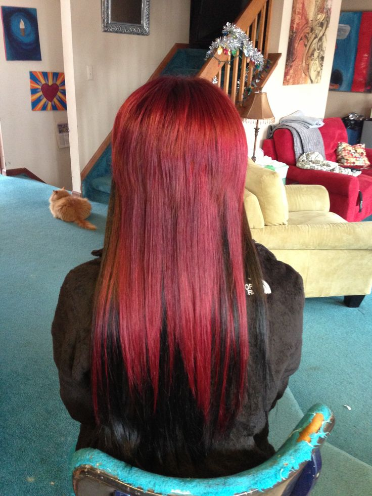 Tape Hair Extensions Red 61