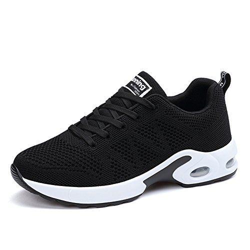 MIMIYAYA Femme Air Baskets Chaussure de Running Sport Baskets de Sports Gym Fitness Course Sneakers 34-40EU: Marque: MIMIYAYA chaussures de…