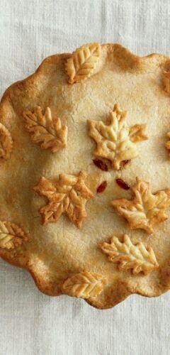 FALL RECIPE IDEA Pie crust pretties
