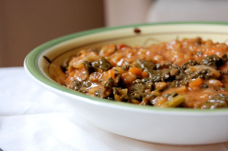 Spelt and Black Cabbage Recipe - A traditional and delicious Tuscan soup!