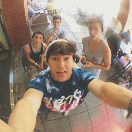 Sam, Kian <33333333, Connor, and JC <3