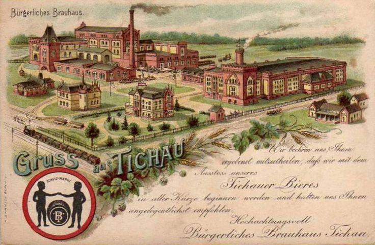 Browar Obywatelski, Tychy - 1900