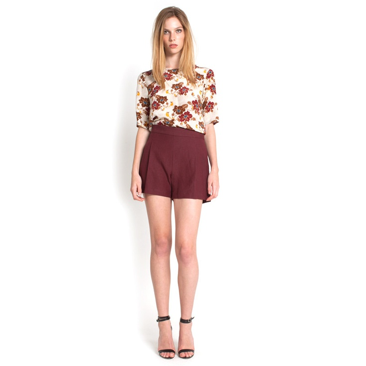 Abigail Top - Light Floral