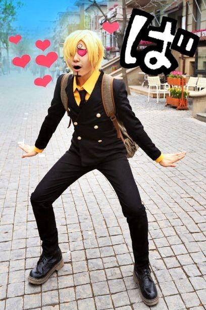 Hilarious Sanji cosplay - One Piece