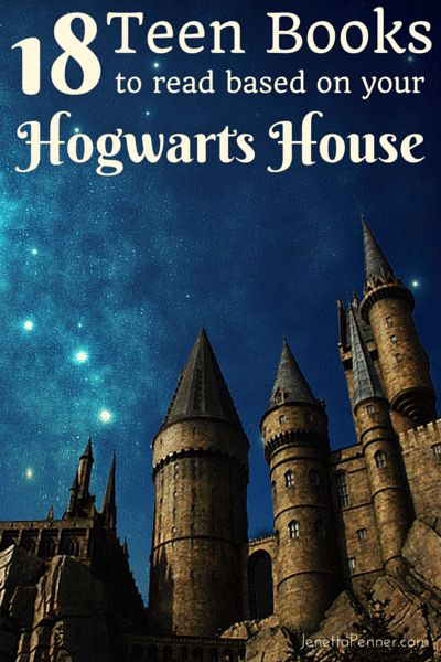 18 YA Books to Read Based on Your Hogwart's House