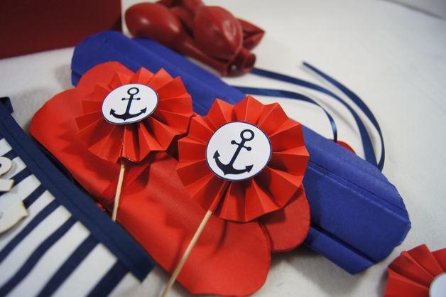 Zestaw urodzinowy - Kotwice - Pracownia-tworcza - Dekoracje