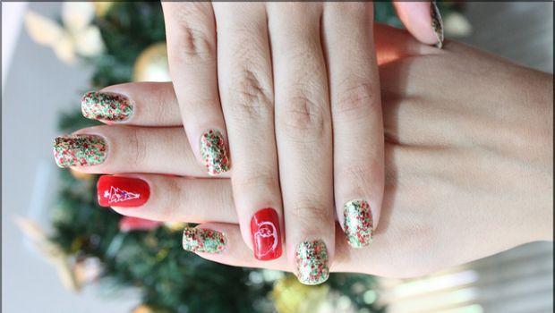 Le nail art natalizie più belle e semplici da fare in casa - Christmas nail art