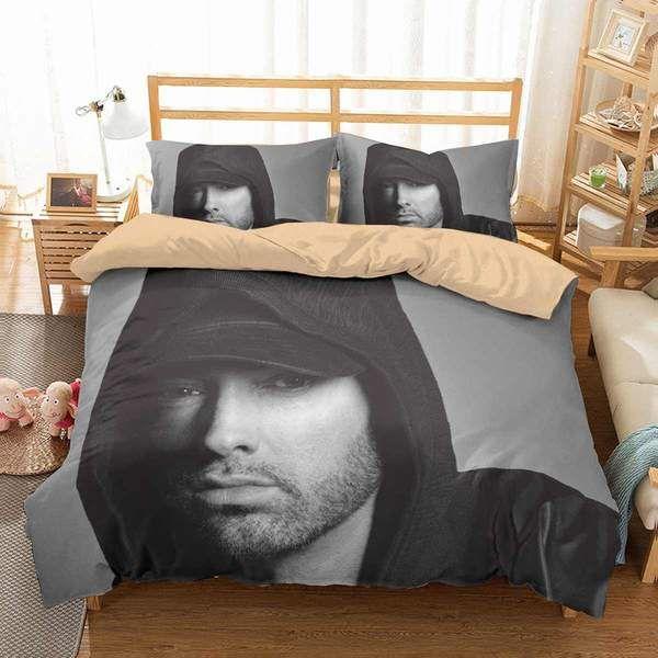 3d Customize Eminem Bedding Set Duvet Cover Set Bedroom Set Bedlinen Duvet Bedding Sets Duvet Cover Sets Duvet Covers