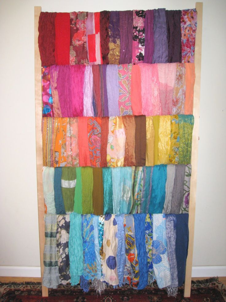 Pinned & Paired: HOW to BUILD a SCARF RACK