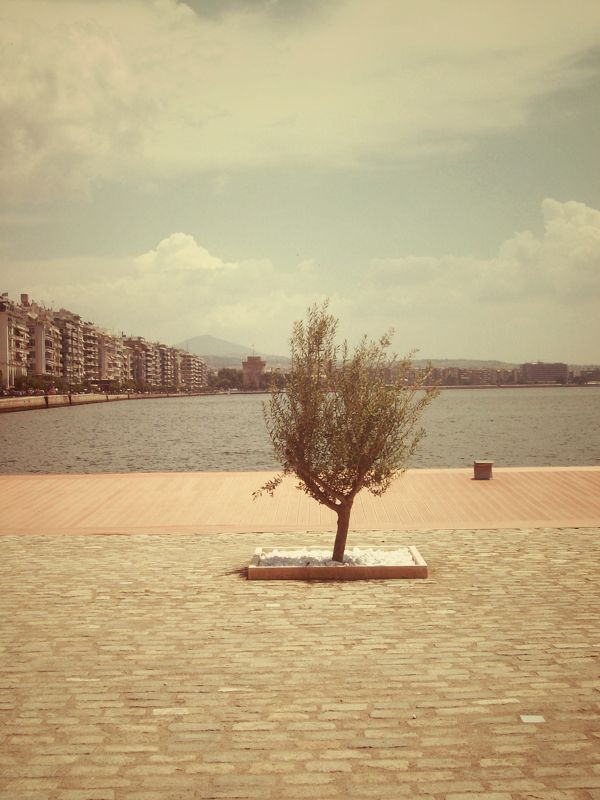 Thessaloniki by Chrisa Fragoudi, via Behance