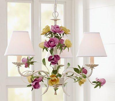 Best Luminous Opulence Images On Pinterest Crystal - Beautiful diy white flowers chandelier