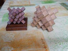 Les puzzles et casse-tête des passionnés du bois. Ils sont gratuits à fabriquer ou construire soi-même en bois avec la méthode les plans la solution et quelques objets curieux ou activités inattendues.
