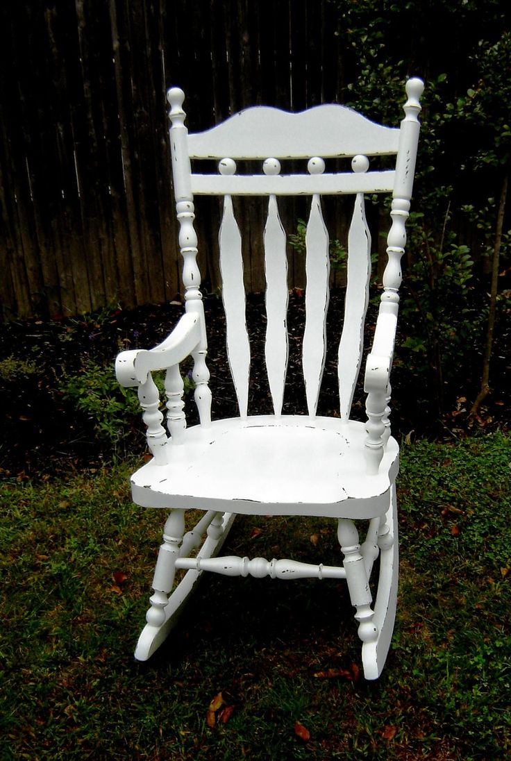 Chair shabby chic painted rocking chairs - Chair Shabby Chic Painted Rocking Chairs 19