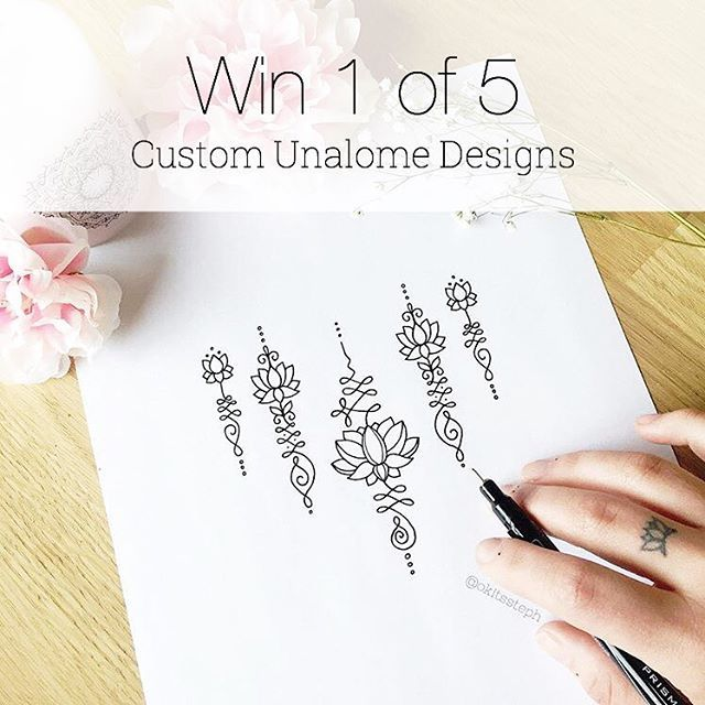 ✨ In the giving moOoOod! I've gotten an INSANE amount of emails asking about some custom unalome designs so I thought I would give away 5 chances to win your own! All you have to do is like the post and tag 2 pals who would dig this giveaway too! You will get to chat with me about what sort of Unalome design you are wanting to get and after the design phase is finished, a high res version will be headed your way as well as some temporary tats of your design too! ✨ I will be choosi...