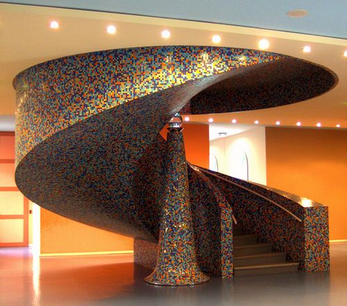 Museum stairs by carina 10, via Flickr ~ Groningen, Netherlands