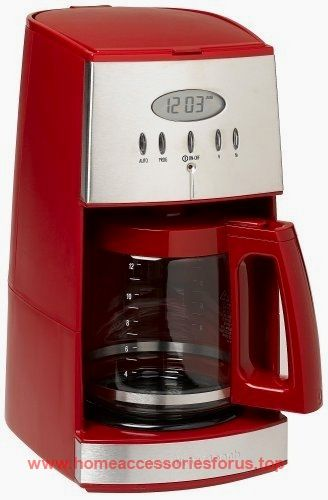 Hamilton Beach 12-Cup Coffee Maker with Glass Carafe, Ensemble Red (43253RA)  BUY NOW     $34.88    With its sleek contemporary styling, this 12-cup coffeemaker not only looks good on the kitchen counter, but it also provides  ..  http://www.homeaccessoriesforus.top/2017/03/04/hamilton-beach-12-cup-coffee-maker-with-glass-carafe-ensemble-red-43253ra/