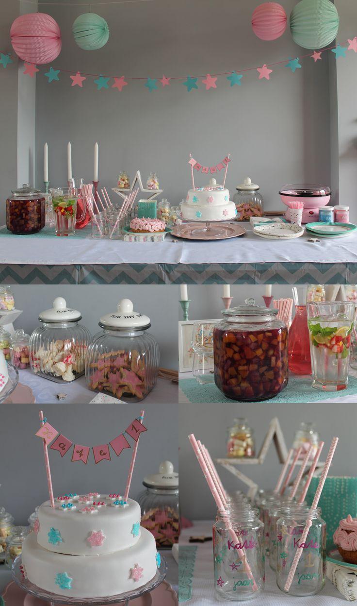 Meer dan 1000 idee n over eerste verjaardag uitnodigingen op pinterest verjaardag - Decoratie slaapkamer meisje jaar ...