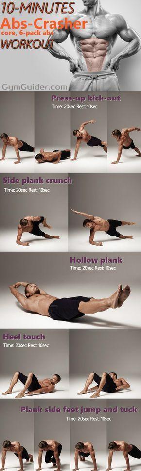 25 + › Eine 10-minütige Trainingseinheit kann ausreichen, um Six-Packs oder … #Fitness zu bekommen