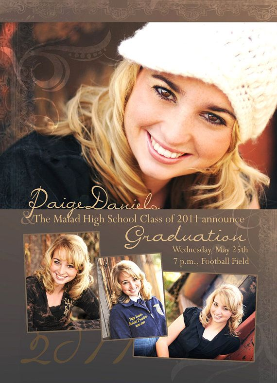 78 best Graduation announcements images on Pinterest Graduation