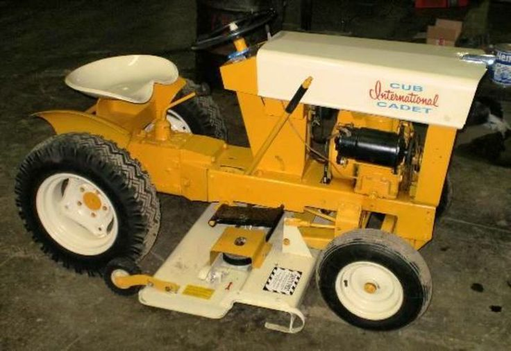 Internal Cub Cadet Lawn Mower : A blast from the past take gander at this cub