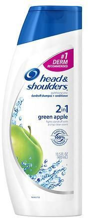 Head & Shoulders 2 in 1 Dandruff Shampoo & Conditioner Green Apple