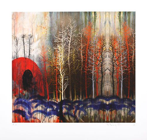 Stanley Donwood  Divided Woods