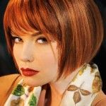 peinados cortos delgados gran idea para el tipo de cabello muy útil en los tiempos de verano. Debido a que usted no va a gastar su precioso tiempo para su cabello. Usted puede agregar flequillo en capas o contundentes, lado o recto, usted puede tener un aspecto elegante de moda con este estilo. En estos … #peinadosconflequillo