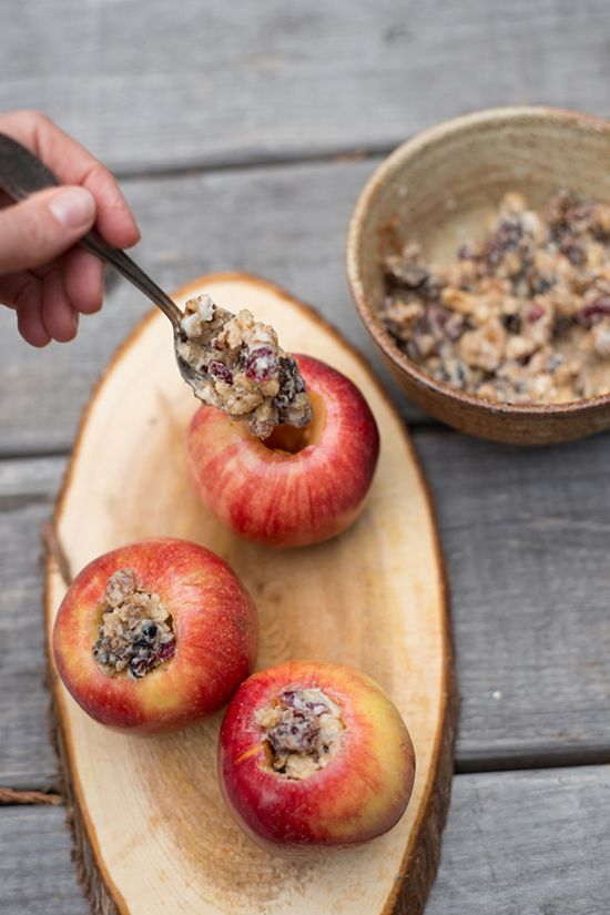 Let's Party: Stuffed Baked Apples | BHG Delish Dish