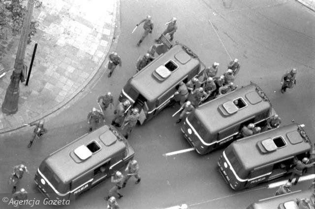 Poland Martial Law 1981