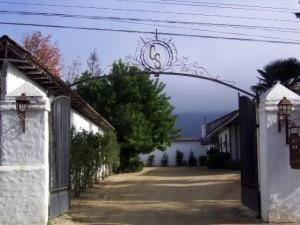 Entrance into Casa Silva
