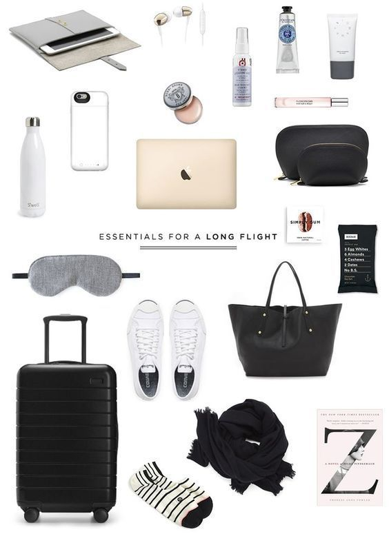 Travel Essentials for a Long Flight – Betty Saad – #Betty #ESSENTIALS #Flight #l…
