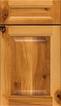 Dryden 5 Piece Rustic Birch Raised Panel Cabinet Door In Fawn