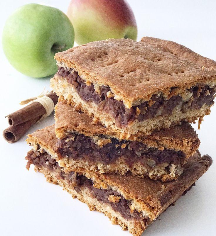 FITNESS rýchli jablkovo - orechový koláč.
