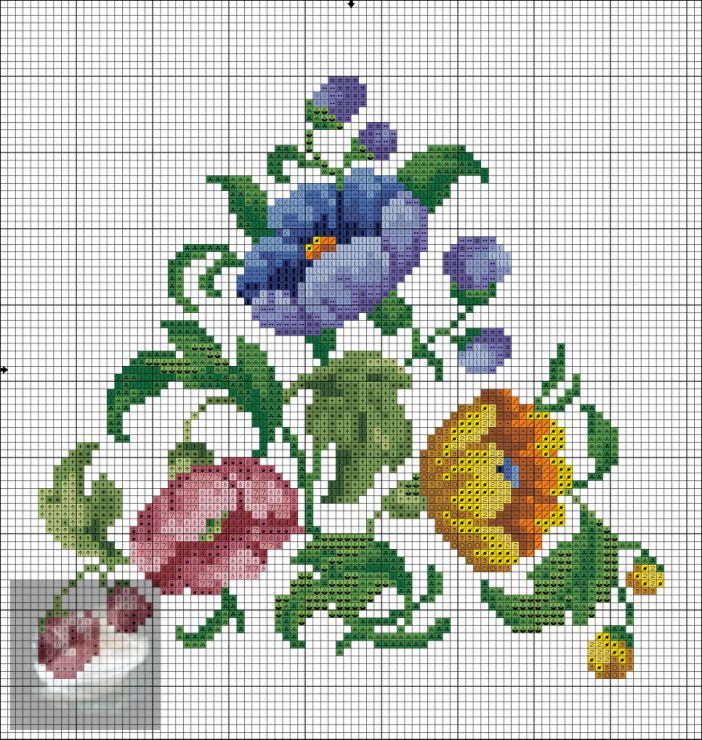 (1) Gallery.ru / Фото #3 - Туфельки 3 цветка - zabka