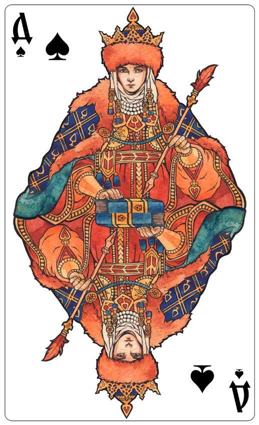 - Queen of Spades (color) - by Losenko on DeviantArt