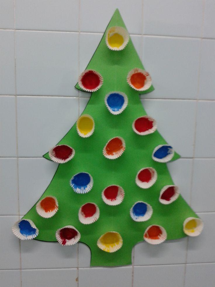 Arbre de Nadal (Imatge compartida per l'Escola Cirera de Mataró)