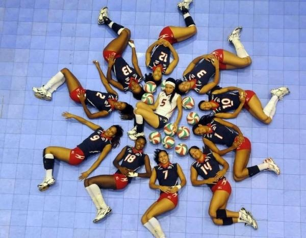 Dominican national volleyball team for the London 2012 olympics