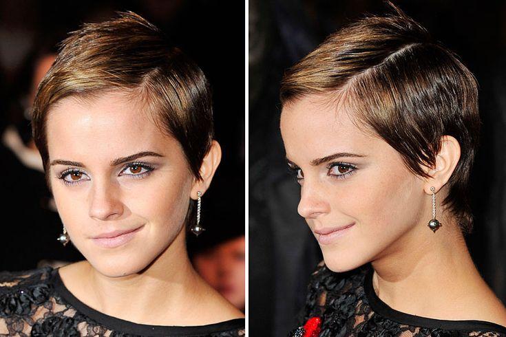 Die Pixie-Frisur von Emma Watson Wenn man jung ist, darf man noch ausprobieren. Emma Watson hatte sich 2010 mit ihrem frechen Pixie vom