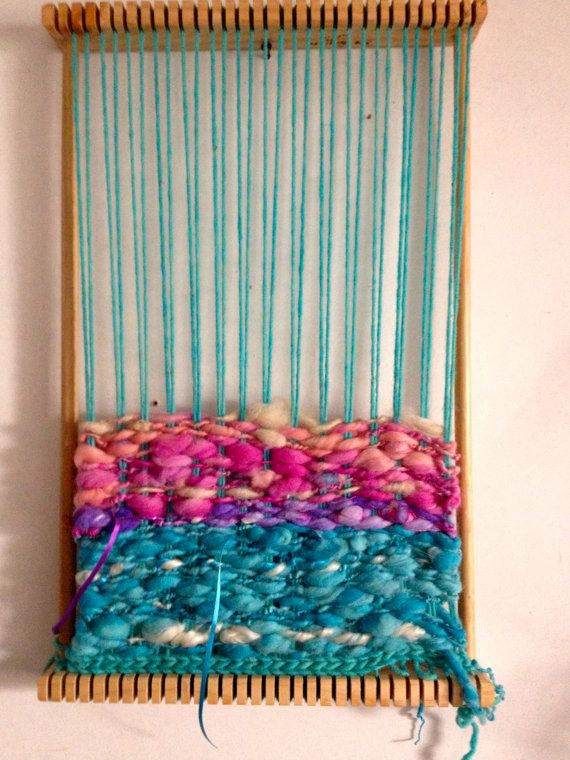 Super Simple Weaving Loom by deorigenchile on Etsy, $65.00
