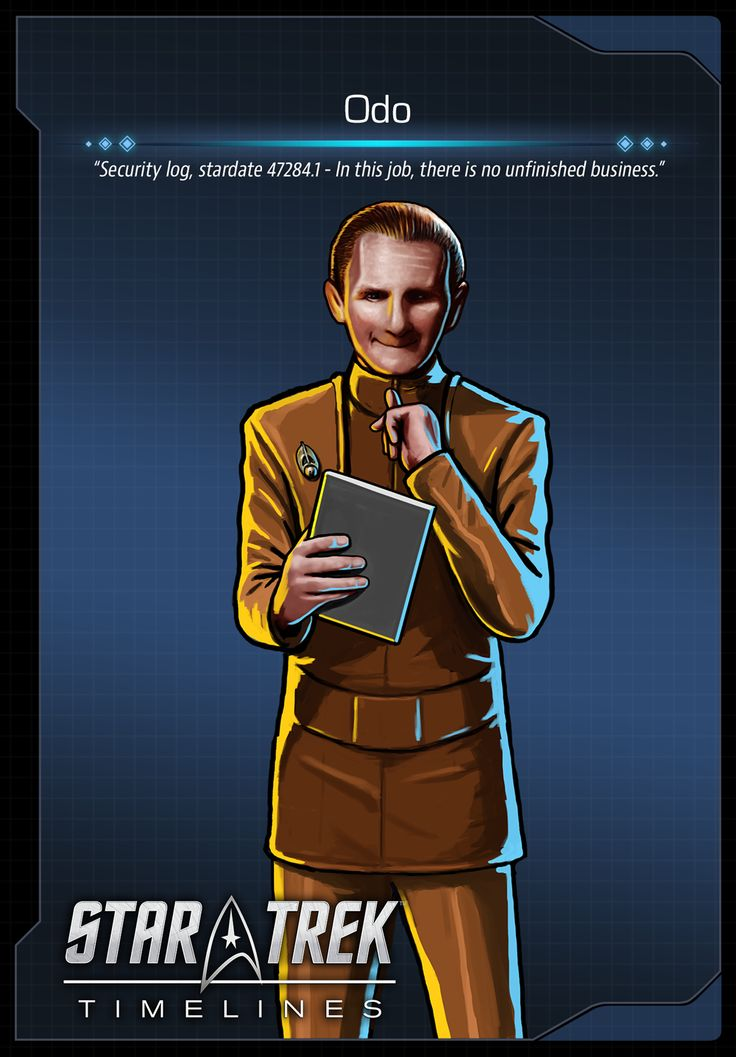 Odo (René Auberjonois) from Deep Space Nine (DS9) in Star Trek Timelines.