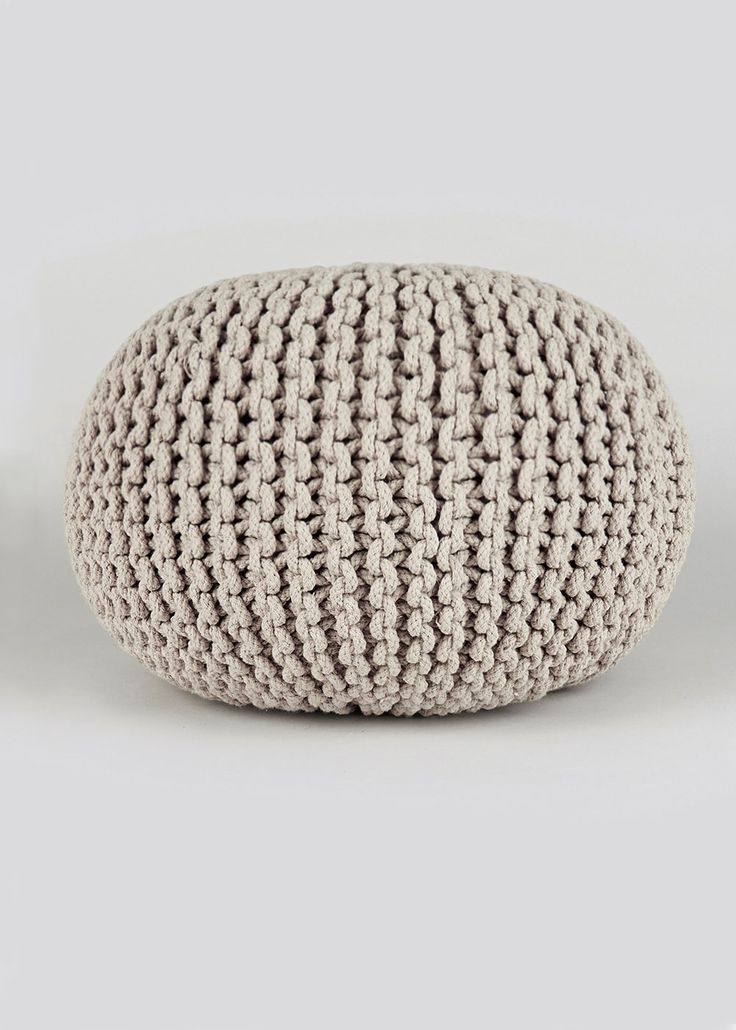 Knitted Pouffe (60cm)