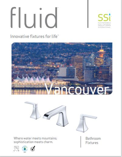 Browse the full line catalogue for the fluid faucet series - Vancouver.