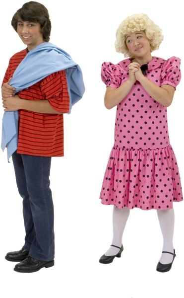 Rental Costumes for You're a Good Man, Charlie Brown - Linus with his blue blanket, Sally