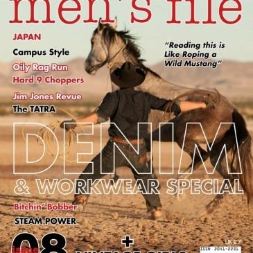 Men's file issue 8  £7.00  http://eshop.hookmotors.com/shop/new/men-s-file-issue-8.html