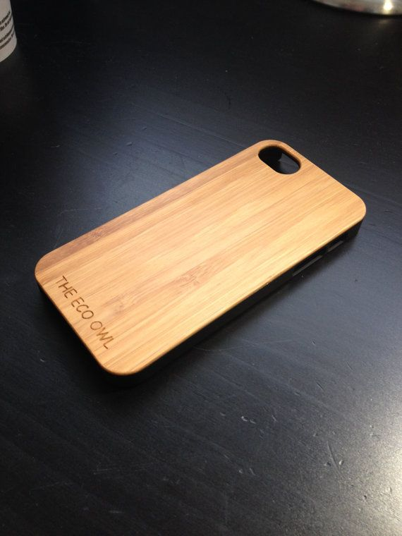 IPhone 5s Case - Black -  Wood iPhone 5 case - Bamboo Wood case for iPhone 5s - Bamboo case