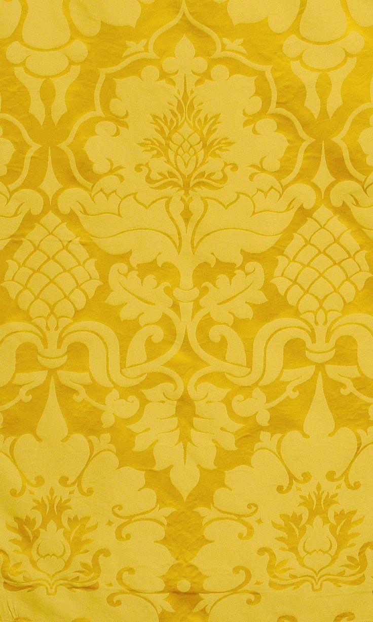 Bellini Imperial Yellow Damask YELLOW Pinterest