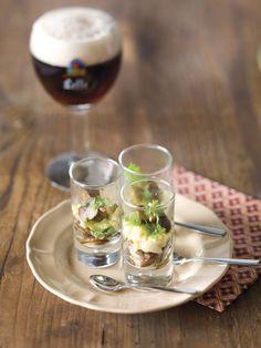 Bospaddenstoelen met kruiden en roerei - Sparretail !