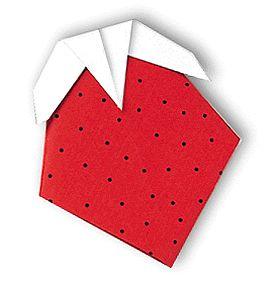 Origami Strawberry