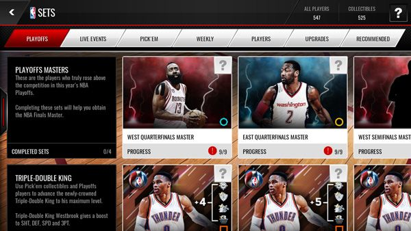 NBA LIVE Mobile Playoffs Semifinals Content - New Playoffs Players, Quarterfinals Masters, Semifinals Sets and Packs - See more at: http://www.ballcoins.com/news/424--nba-live-mobile-playoffs-semifinals-content-new-playoffs-players,-quarterfinals-masters,-semifinals-sets-and-packs